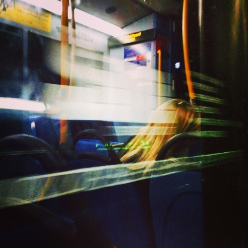 No46 nightbus, London