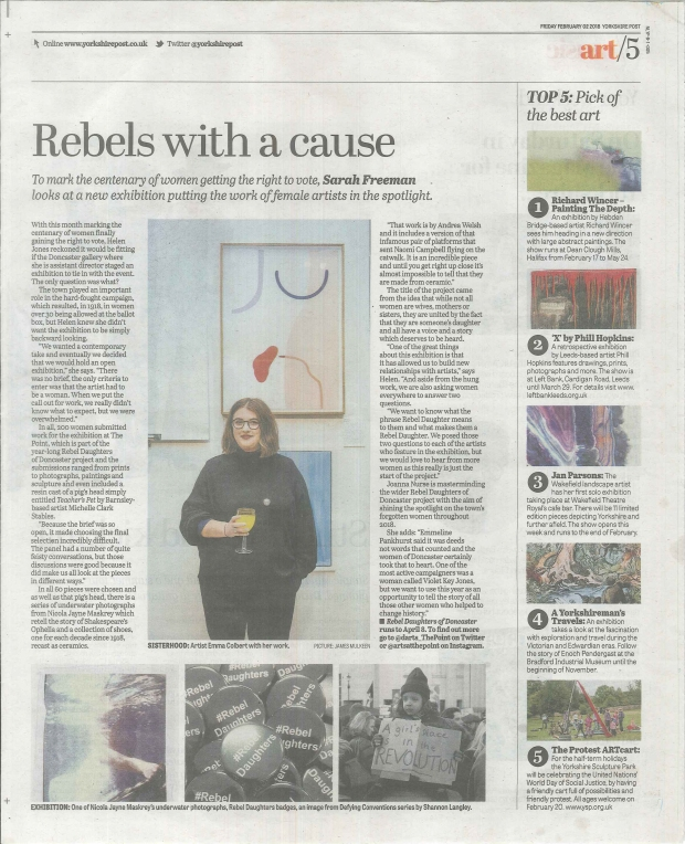 Rebel Daughters Yorkshire Post